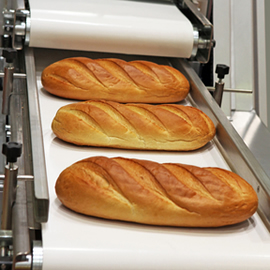 PU - Polyurethane conveyor belts for biscuits and bread manufacturing
