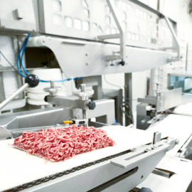 Conveyor belt for meat or meat processing